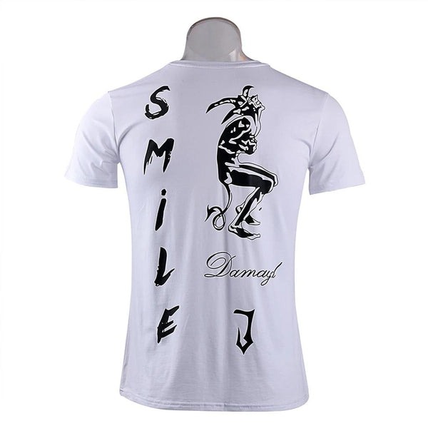 2016 Suicide Squad T-Shirt Joker Tattoos Costume T-Shirt