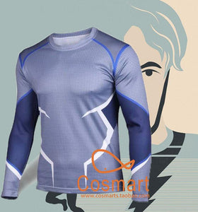 Avengers Age Ultron Quicksilver Pietro Maximoff Cosplay Costume T-Shirt