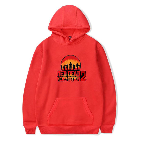 Game Red Dead Redemption 2 Pullover Hoodie Sweater Adults
