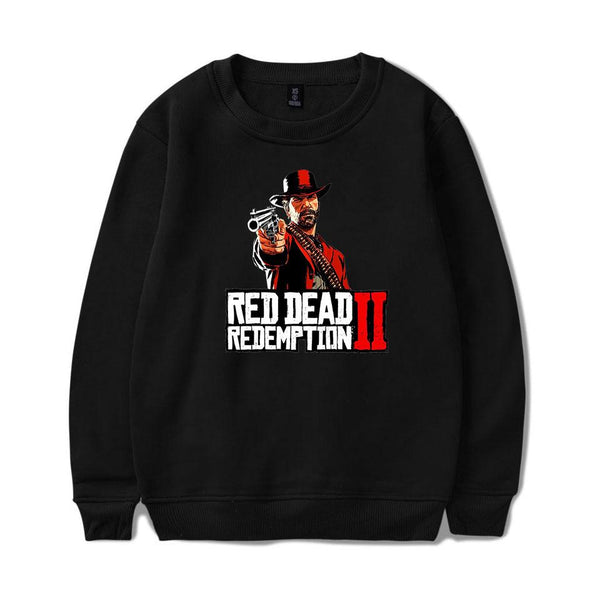 Game Red Dead Redemption 2 Round Neck Sweater