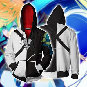 Kingdom Hearts Ventus Hoodie Cosplay Jacket Zip Up