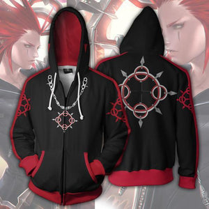 Kingdom Hearts Hoodie - Axel Jacket