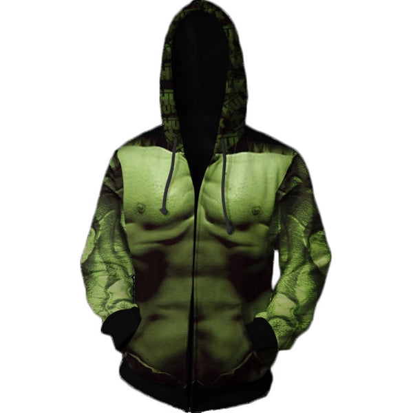 Avengers Endgame Hulk Cosplay Costume Movie Hoodie Sweatshirts
