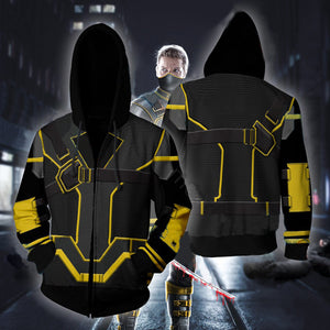 Avengers Endgame Hawkeye Cosplay Costume Movie Hoodie Sweatshirts