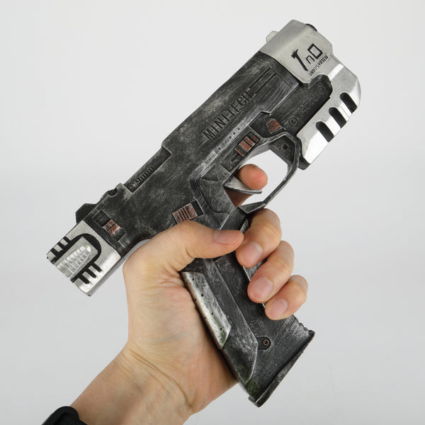 Cyber punks 2077 Game Cosplay Weapons Gun Toys Cosplay RPG V Minitech Accessories Fans Souvenir Halloween Party Prop