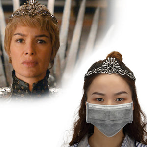 Game of Thrones Cosplay Cersei Lannister Crown Headbands Headgear Halloween Costume Jewelry Props
