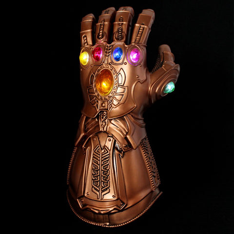 Avengers 4 Endgame Thanos Infinity Gauntlet Cosplay Arm Thanos Latex Gloves Arms Armor Marvel Superhero Weapon Party Props