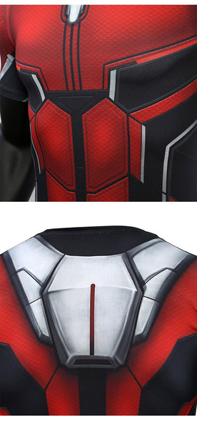 Ant Man 3D Printed T shirts Men Avengers 4 Endgame Compression Shirt Cosplay Costume Tigths Short Sleeve Tops For Male