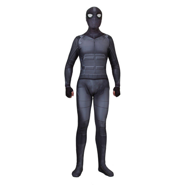 Spider Man Far From Home Peter Parker Stealth Suit Cosplay Costume Superhero Bodysuit Jumpsuits