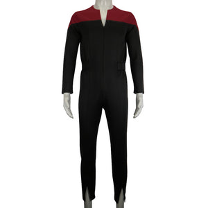 Star Trek Deep Space Nine Commander Sisko Duty Uniform Jumpsuit Cosplay Costumes