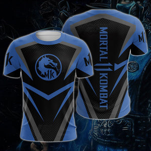 Mortal Kombat X Sub-Zero Scorpion Short Sleeve Tee Shirt Halloween Cosplay Costume