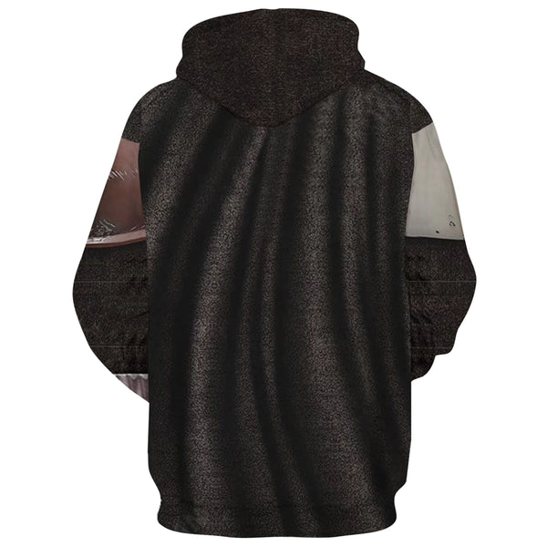 Star Wars The Mandalorian Hoodie Cosplay Costume Sweater Coat Jacket Pedro Pascal Mandalorian Soldier Warrior Star Wars Prop