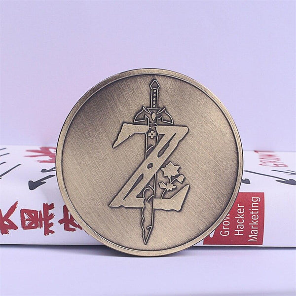 The Legend of Zelda Cosplay Breath of the Wild Special Collectible Coin