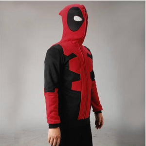 Deadpool Hoodie Sweatshirts Adult Cosplay Costume