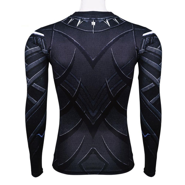 Captain America: Civil War Black Panther Long Sleeve T-Shirt
