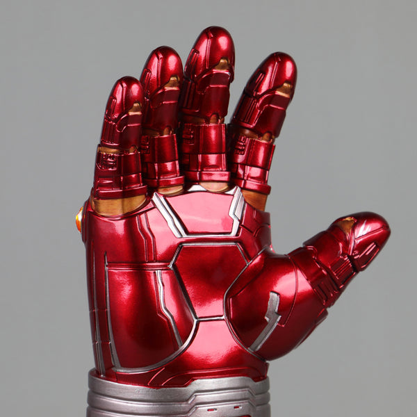 Avengers Endgame Iron Man Gauntlet Gloves Stone Movable Led Light Infinity War Glove Halloween Cosplay props