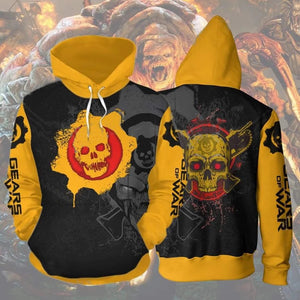 Gears of war 5 3D Printed Sweater Hooded Sweatshirts Coat