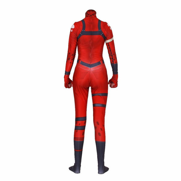 Fortnite Tricera Ops Jumpsuit Halloween Cosplay Costume
