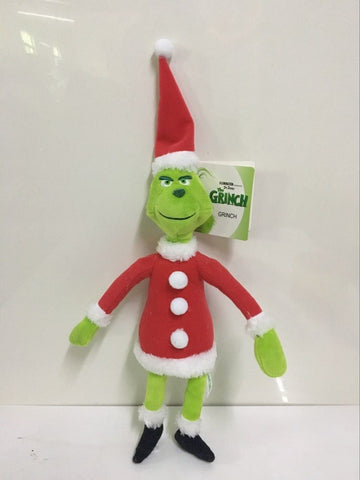 How the Grinch Stole Christmas Dr Seuss Plush Toys New