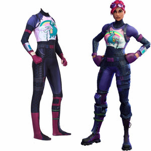 Fortnite Brite Bommber Jumpsuit Halloween Cosplay Costume