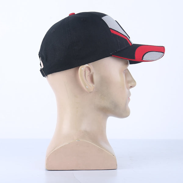 2019 Movie Avengers 4 Endgame Cosplay Hats Quantum Realm Embroidery Adjustable Strapback Advanced Tech Baseball Caps Props Gift