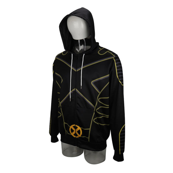 New X-Men The Gifted Hoodies Cosplay Costume Men Adult Jacket Sweatershirts Man Outfit Coat DC Movies Halloween Party Prop