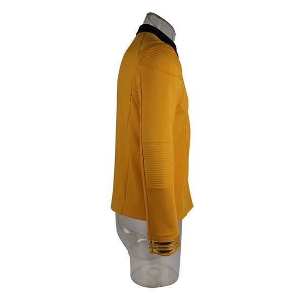 Star Trek Discovery Season 2 Captain Kirk Shirt Uniform Halloween Cosplay Costume