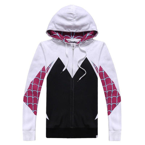Venom Spider-Man Gwen Stacy Spiderman Cosplay Jacket Sweatshirt