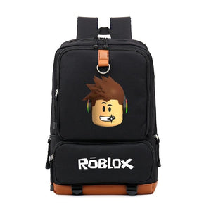 Roblox Game Casual Backpack For Kids Student School Bags