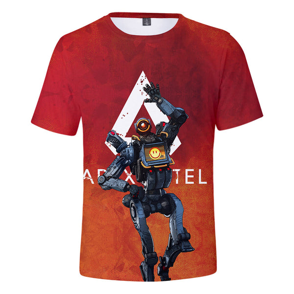 Game Apex Legends Cosplay Tee Shirt Halloween Cosplay Costume