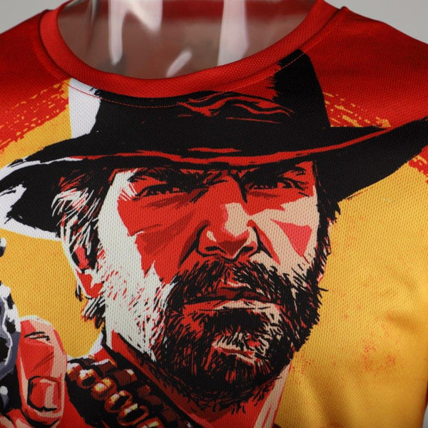 3D Red Dead Redemption 2 T-shirt Men American New Game Short T-shirt Women/men 2018 Fashion Casual 3D Funny T-shirt