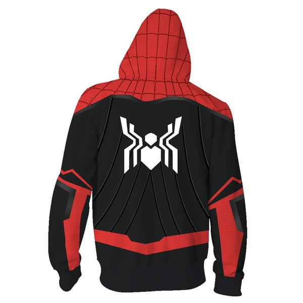 Marvel Movie Spiderman 3D Print Avengers 3 Infinite War Cos Super Hero Collection Hooded ZIP Hoodie Hoodie