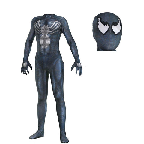 Venom Symbiote Spider-Man Jumpsuit Halloween Cosplay Costume