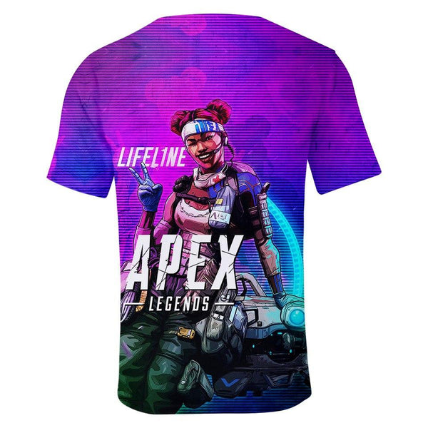 The New 3D Print Apex Legends T-shirt Men Women 2019 Fall Fashion New Print Apex Legends Costume 3D Men's