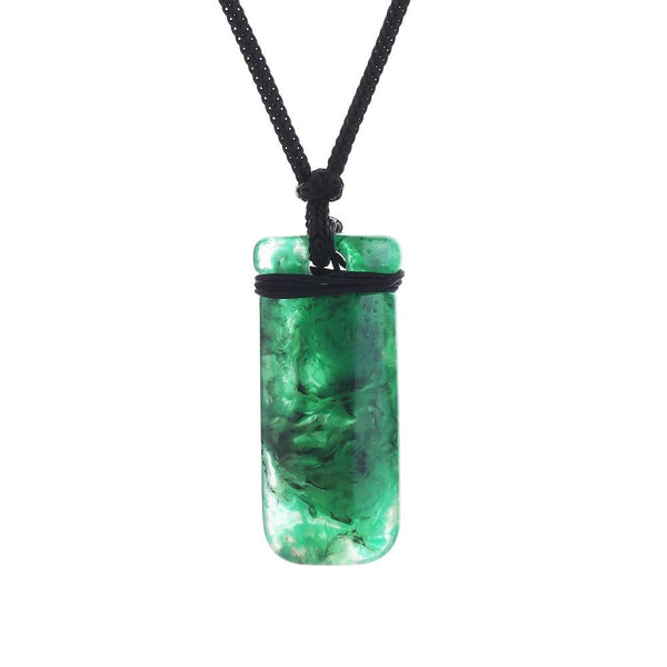2018 Aquaman Arthur Curry Necklace Green Pendant Halloween Cosplay Necklace
