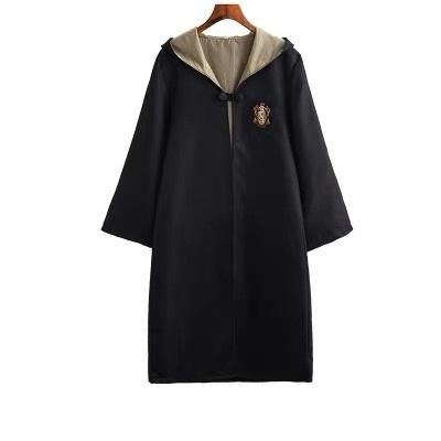 Cosplay Harry Potter Gryffindor/Hufflepuff/Slytherin/Ravenclaw Costume Robe Cape