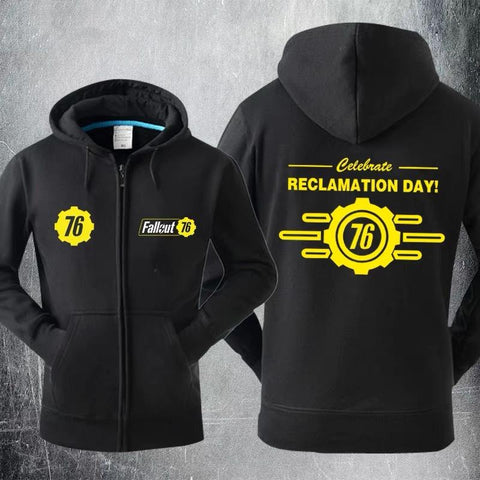 Fallout 4 Reclamation Day Sweater Cosplay Hoodies Jacket