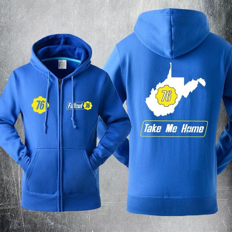 Fallout 4 Take Me Home Sweater Cosplay Hoodies Jacket