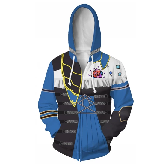 Bloodstained: Ritual of the Night Sweatshirt Hooded Jacket Game cosplay costume