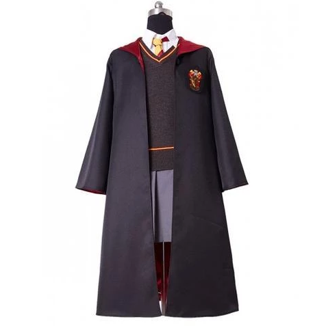 BFJFY Harry Potter Gryffindor Uniform Hermione Granger Adult Cosplay Costume