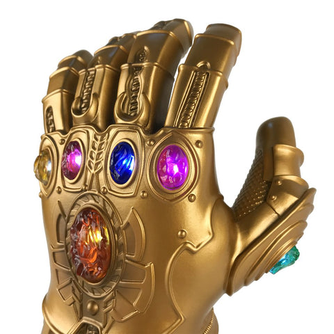 Avengers: Endgame Thanos Infinity Gauntlet Gloves Kids Edition Led Light Infinity War Glove Kids Hand Wear