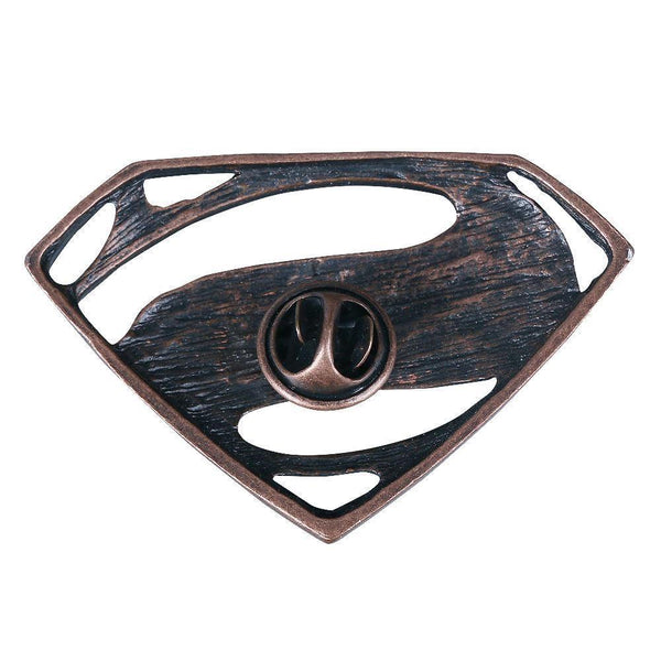 Justice League The Flash Wonder Woman Superman Aquaman Badge Brooch