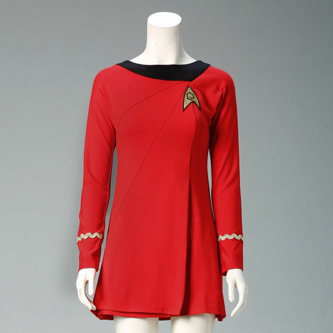 Star Trek TOS The Original Series Female Duty Uniform Dress Cosplay Costumes
