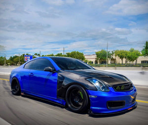 Infiniti G35 Coupe 03-07 Side Skirts