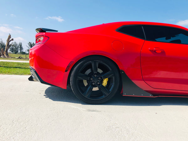 Camaro Rear Diffuser Kit V1 SS ZL1 2016 2017 2018 Authority Motorsport