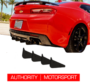 Camaro Rear Diffuser Kit V3 SS ZL1 2016 2017 2018 Authority Motorsport
