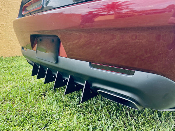 Challenger Rear Diffuser 8 Piece Kit V2 2015-2020