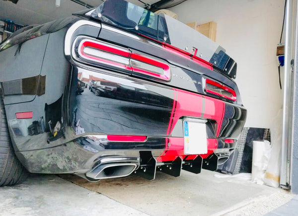 Dodge Challenger Rear Diffuser Kit V1