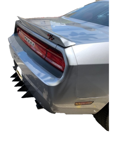 Challenger Rear Diffuser Kit 5 Piece V2 SXT SRT RT Hellcat 2009-2014
