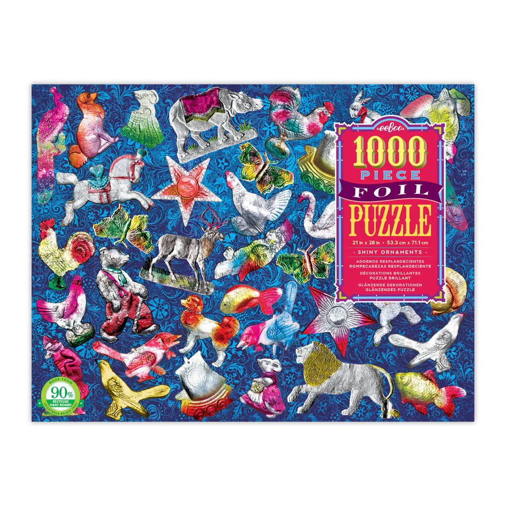 Shiny Ornaments 1000 Piece Foil Puzzle